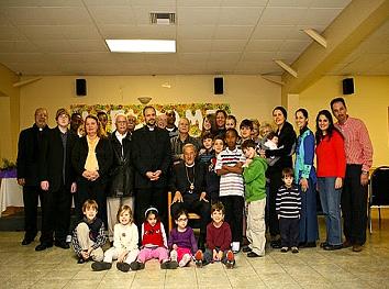 Metropolitan PHILIP with Sunday School