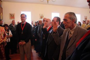 Bill Tsoukalas, Anton Bishouty (sponsor), Antoine Hindeleh (new member), Ghassan Kebaien (new member)