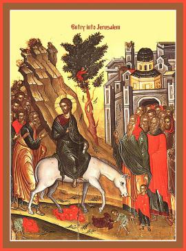 Palm Sunday (Entry of the Lord into Jerusalem)