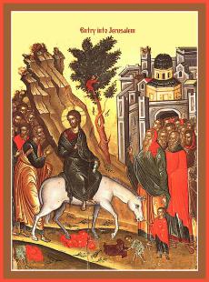 Palm Sunday (Entry of the Lord into Jerusalem)