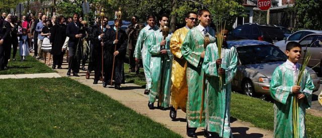 Palm Sunday + St. George Church, Washington, D.C.