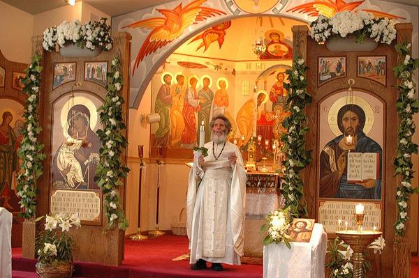 Fr. James Bernstein at St. Paul Church + Brier, WA