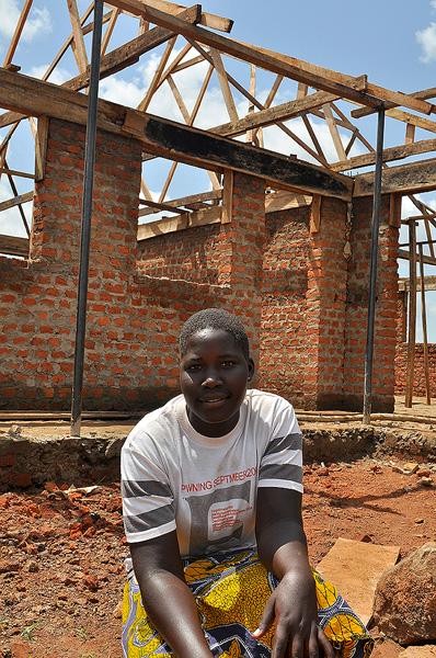 Patricia in Uganda
