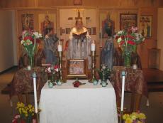 Protection of the Holy Theotokos Church + Fort Saskatchewan, AB