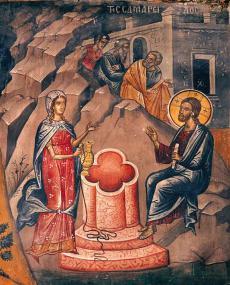 St. Photeini, the Samaritan Woman