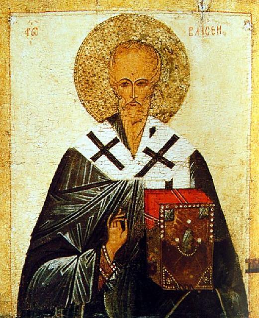 Hieromartyr Blaise of Sebaste