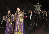Holy Friday Procession at St. George Church + Boston, MA