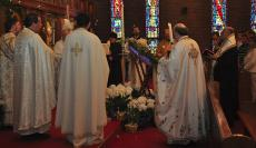 Agape Vespers at St. George Church + Boston, MA