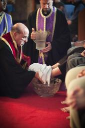 Washing of the Feet at St. George Cathedral + Pittsburgh, PA