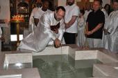 Baptism Preparations at St. Joseph + Houston, TX