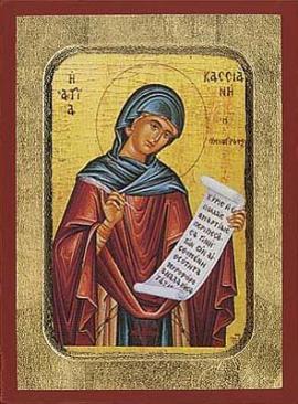 St. Kassiane the Hymnographer