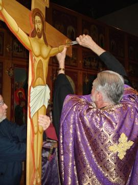 Taking Down from the Cross at St. Mary + Wilkes-Barre, PA