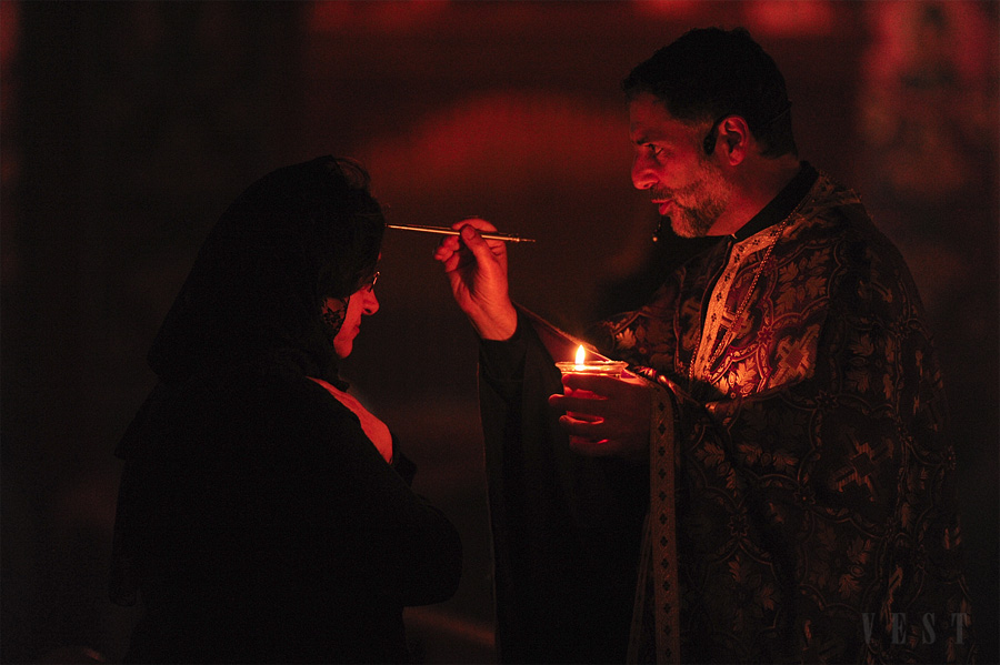 Holy Unction at St. Michael Church + Louisville, KY