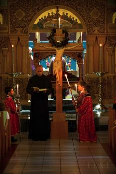 Holy Friday at St. Michael Church + Louisville, KY