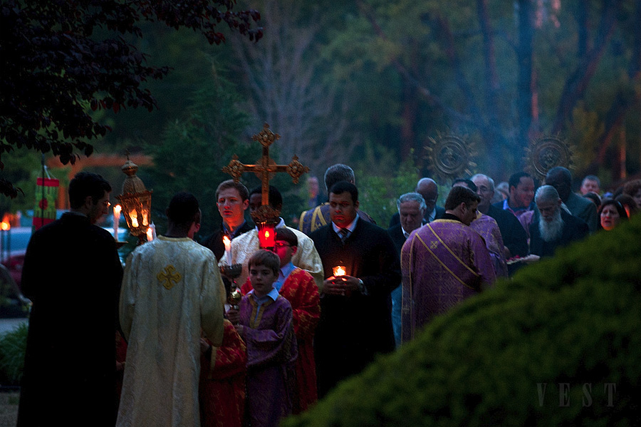 Holy Friday Procession at St. Michael Church + Louisville, KY