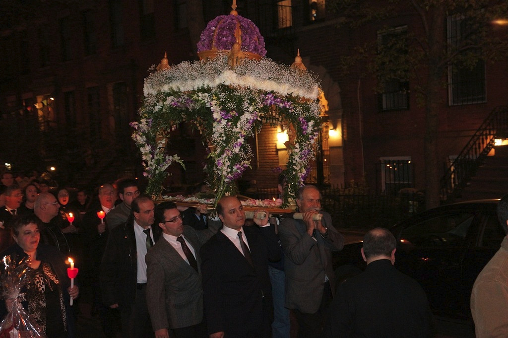 Holy Friday Procession, St. Nicholas Cathedral + Brooklyn, NY