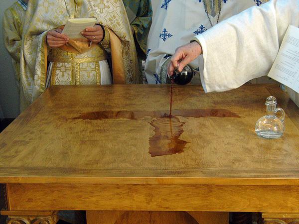 Consecration at St. Nicholas, Shreveport, LA