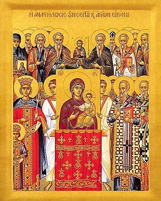 Sunday of Orthodoxy (Triumph of the Icons)