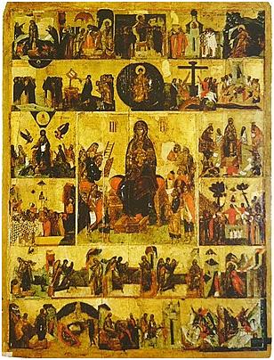 Akathist of the Theotokos, Mother of Light