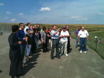 Viewing the Flight 93 Crash Site