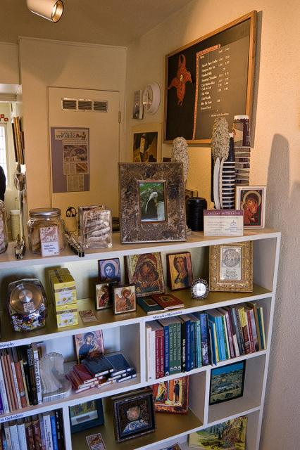 Orthodox Coffeehouse and Bookstore in Taos, NM
