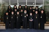 Patriarch John X and the Holy Synod of Antioch, June 2013