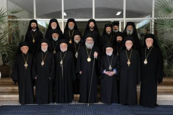 The Holy Antiochian Synod, June 2013
