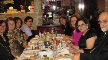 Antiochian Women 2012 Christmas Celebration in Montreal
