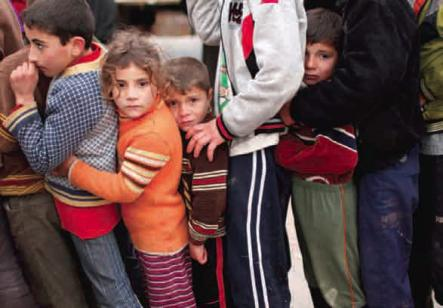 Syrian children caught in civil war