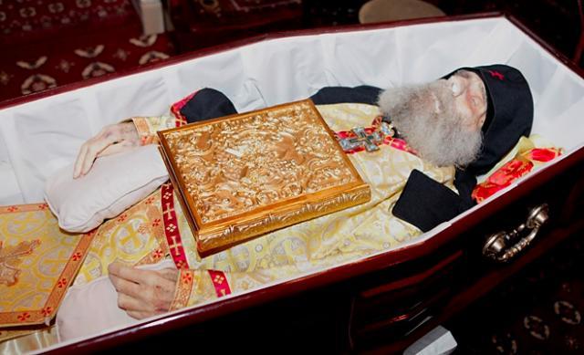 Funeral of Archimandrite Elias (Morcos)