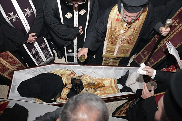 Funeral of Archimandrite Elias (Morcos)
