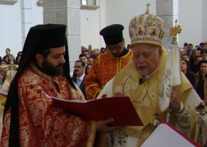 Archimandrite Ignacio and Archbishop Antonio