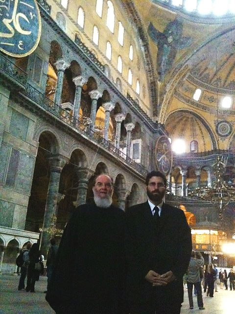 Inside Hagia Sophia with Archdeacon Panteleimon