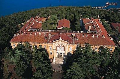 Halki Monastery and Seminary with Holy Trinity Chapel in the Center