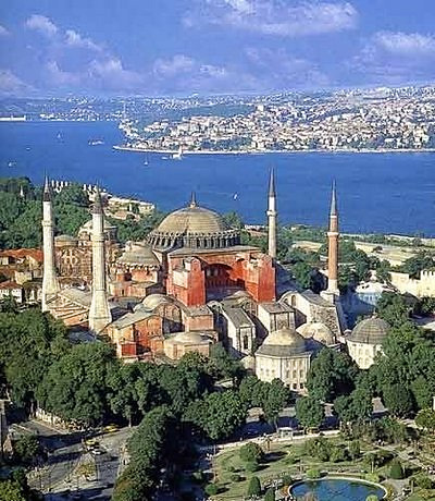 The Cathedral of Hagia Sophia