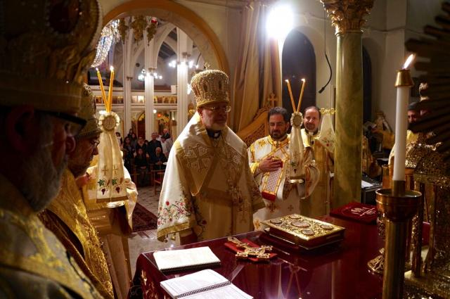 Metropolitan Joseph Presides at Jubilee Celebration for St. Raphael, Nov. 6-7, 2015