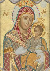 The Bethlehemitissa: Wonderworking Icon of Our Lady of Bethlehem in the south transept of the Church of the Nativity