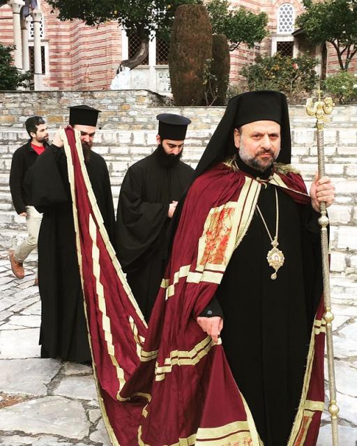 Bishop Nicholas Leading Procession