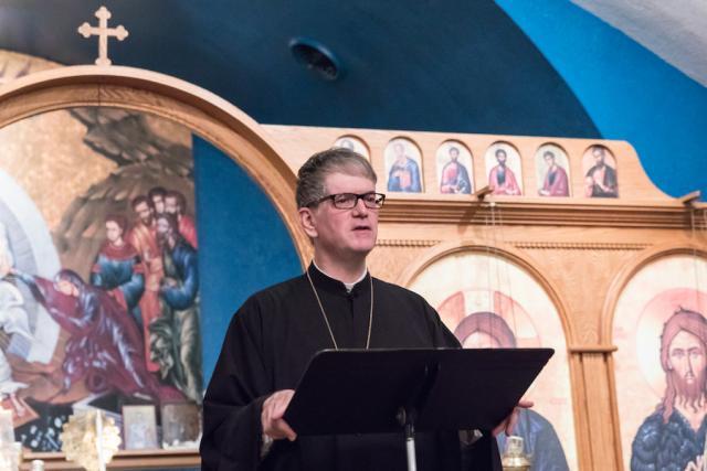 Bishop Anthony at St. Nicholas Church in Urbana, IL