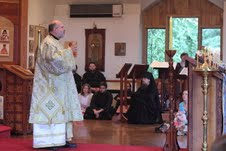 Bishop John addresses students at St. Vladimir's Seminary