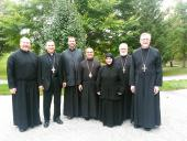 Bishop Thomas and Clergy Visit the Convent of St. Thekla