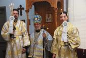 Bishop Thomas Visits Holy Ascension Church + West Chester, PA