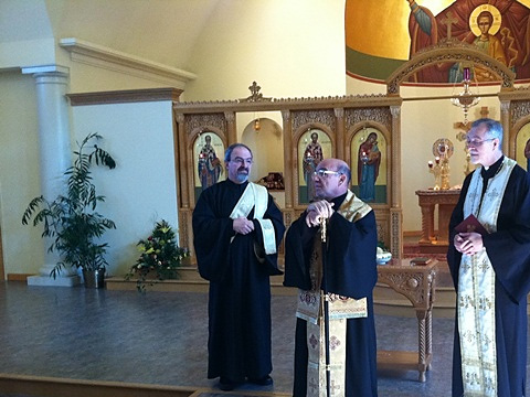 Bishop Thomas Visits St. John Chrysostom Church + York, PA