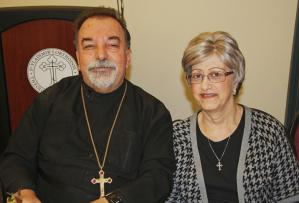 Fr. Elias and Kh. Joanne Bitar in 2011