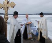 Blessing of Waters, Moraine State Park, PA: 2014