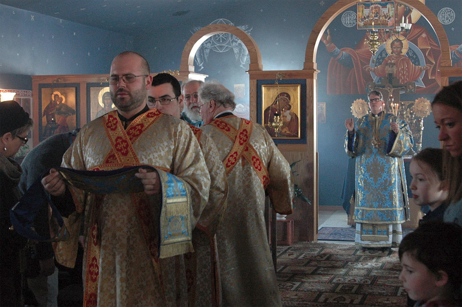 Bishop Anthony Visits St. Mary Church + Goshen, IN