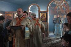 Bishop Anthony Visits St. Mary Church + Goshen, IN