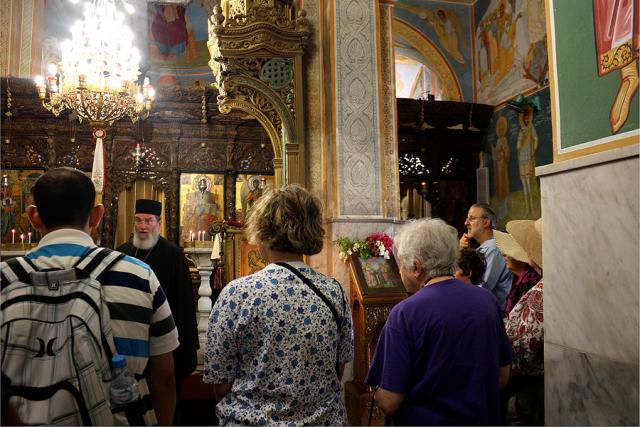 Bishop Basil Teaching at the Church of the Annunciation