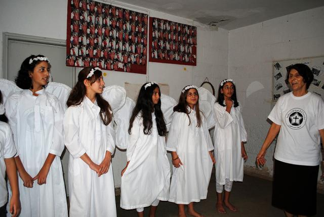 School Children from the Church of the Forefathers in Beit Sahour