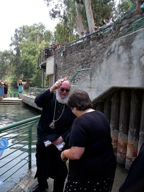 Blessing at the River Jordan